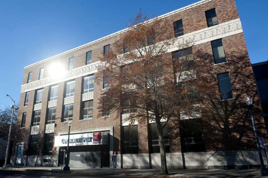 The former Connecticut Post newspaper building on State Street in Bridgeport has been sold. Photo: Ned Gerard / Hearst Connecticut Media / Connecticut Post
