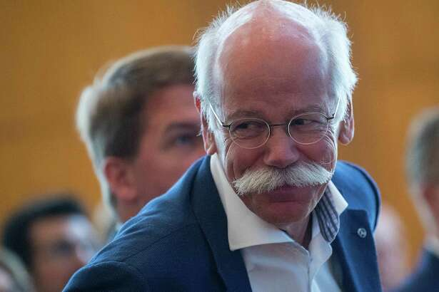 Daimler Chief Executive Officer Dieter Zetsche is shown at the European School of Management and Technology forum in Berlin on June 7, 2018.