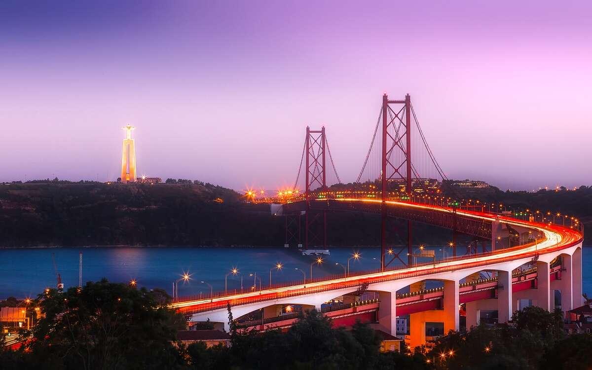 Lisbon's 25 de Abril bridge is frequently compared to San Francisco's Golden Gate bridge