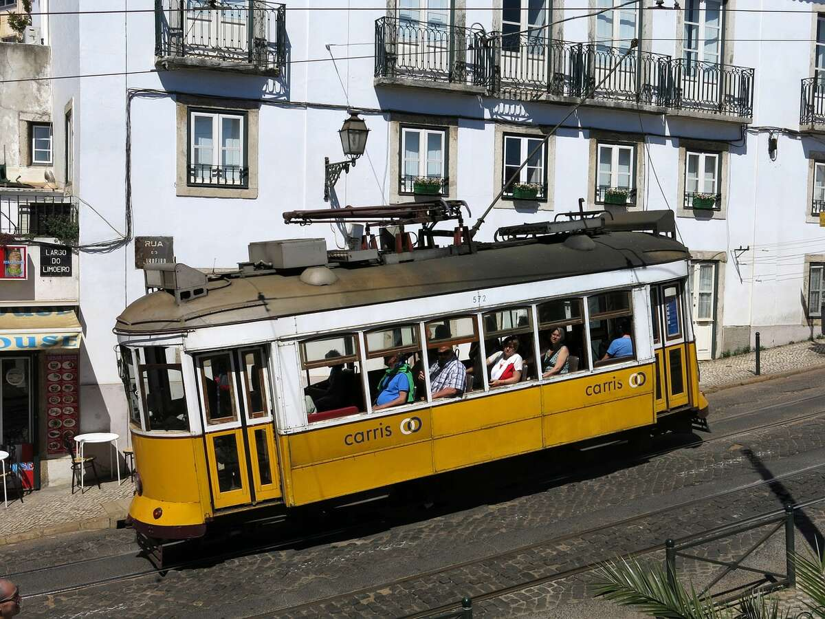 Lisbon's trams are likely familiar to San Franciscans