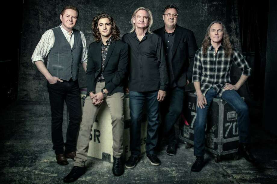 The Eagles, featuring Don Henley, Joe Walsh & Timothy B. Schmit, with Vince Gill and Deacon Frey. Photo: Contributed Photo