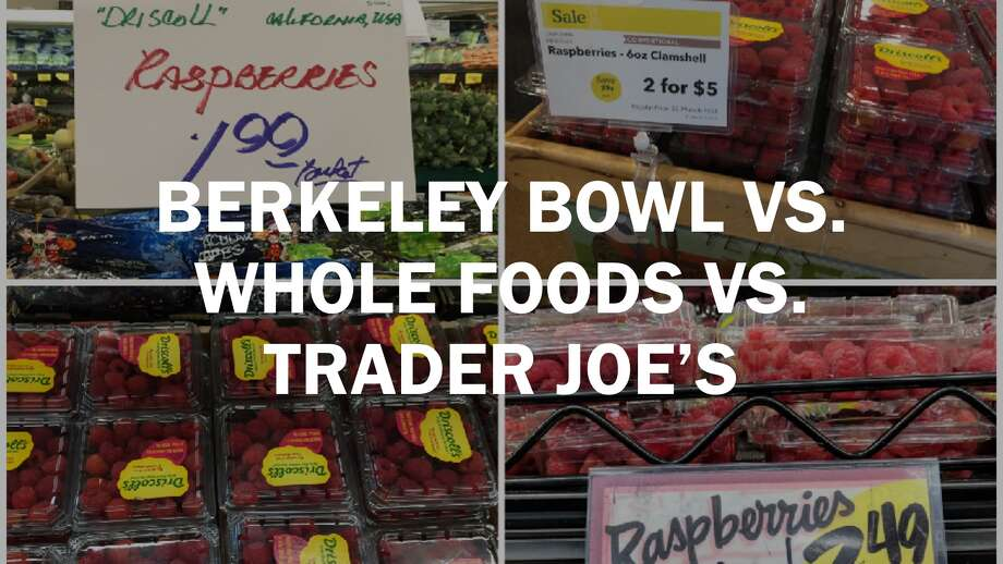Price Comparison Does Berkeley Bowl Beat Trader Joes And Whole