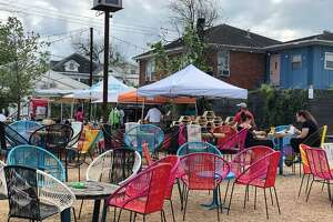 Enjoy drink specials and food at Axelrad's Tuesday Night Market.