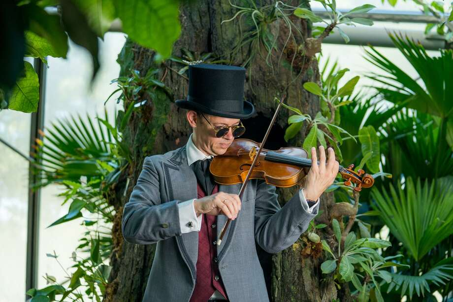"Jonathan Godfrey in Mercury's production of ""Vivaldi's Four Season."" Photo: Courtesy Photo / Courtesy Photo / Photo by Ben Doyle"