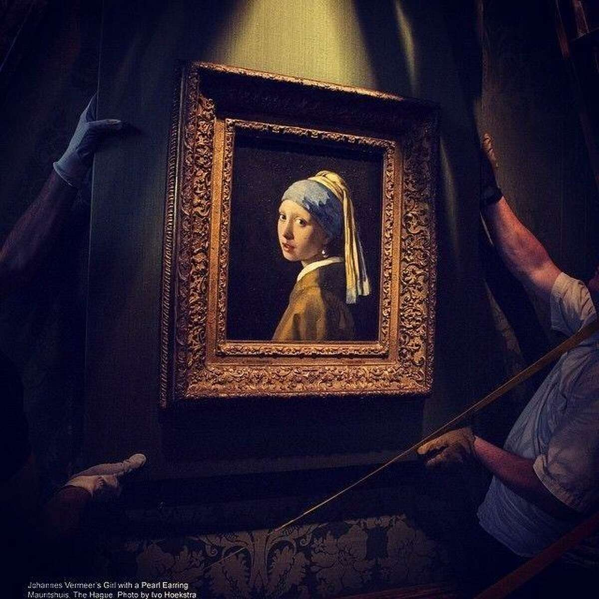 """The Museum of Fine Arts, Houston, screens """"Girl with a Pearl Earring,"""" on Friday and Saturday."""