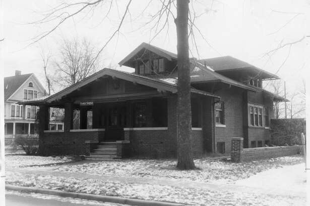 The office dwelling of the Family Service Agency, 214 Rodd St., will become the new quarters of the Midland Chamber of Commerce and the Midland Credit Bureau. The dwelling was also formerly known as the George O. Rockwell home. 1955