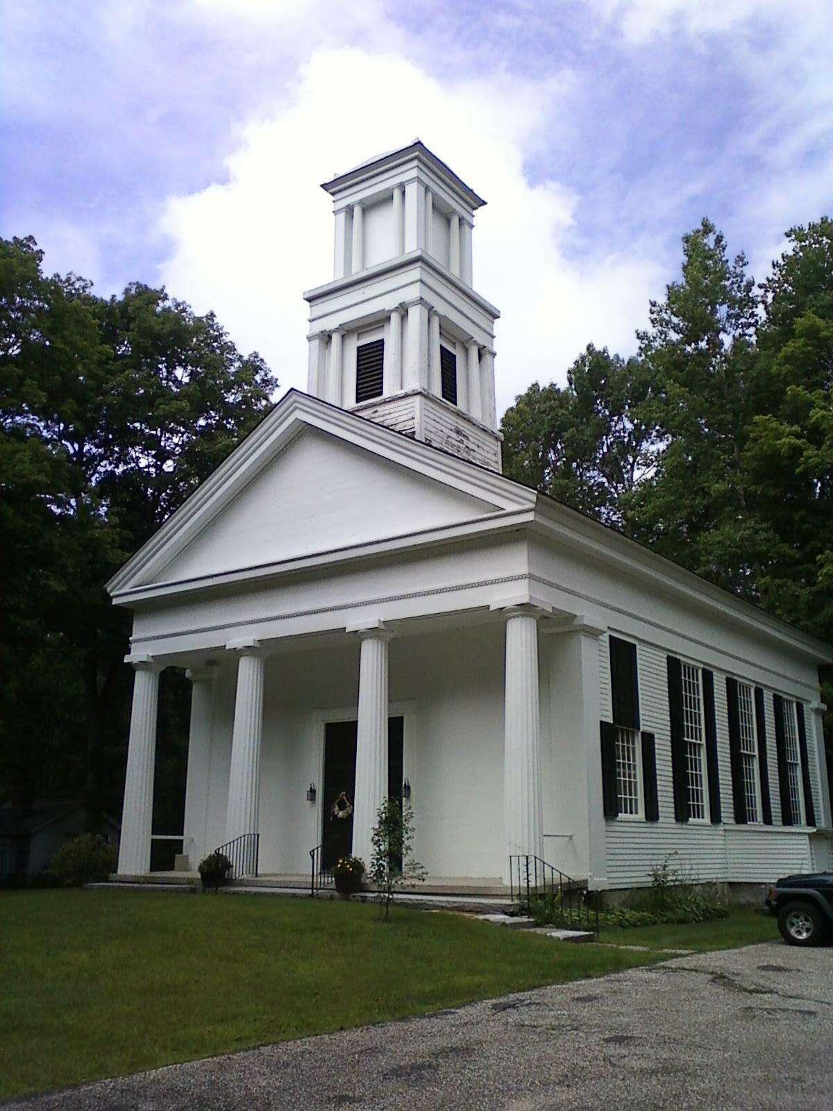 The First Congregational Church of Barkhamsted will celebrate completing its renovation project on Sunday.