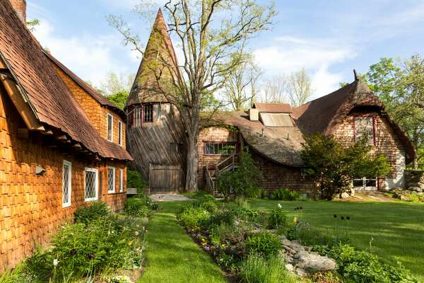 A fairy tale estate in the Berkshires called Santarella is on the market for $1.99M. 