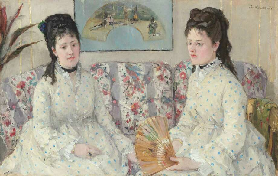Berthe Morisot, The Sisters, French, 1841 - 1895, 1869, oil on canvas, Gift of Mrs. Charles S. Carstairs Photo: National Gallery Of Art