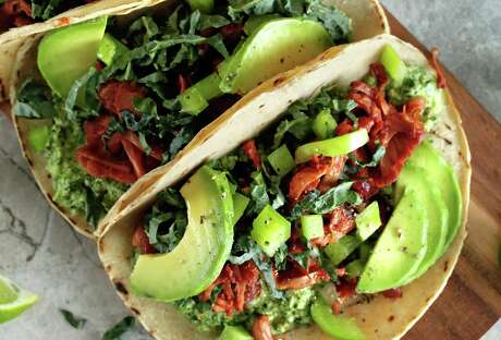 Pulled jackfruit tacos. Photo: Evi Oravecz / Green Evi /Picture Press /Getty Images / Picture Press RM / This content is subject to copyright.