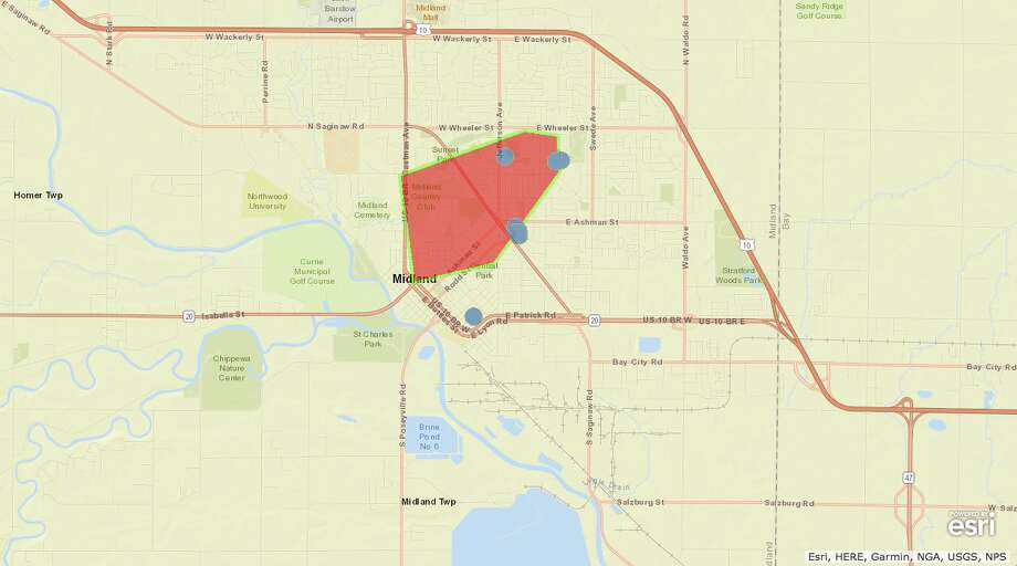 Power Outage Hits More Than 1 100 Customers Midland Daily News