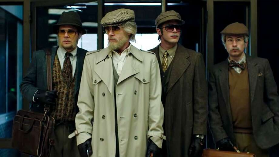 "A scene from the film ""American Animals."""