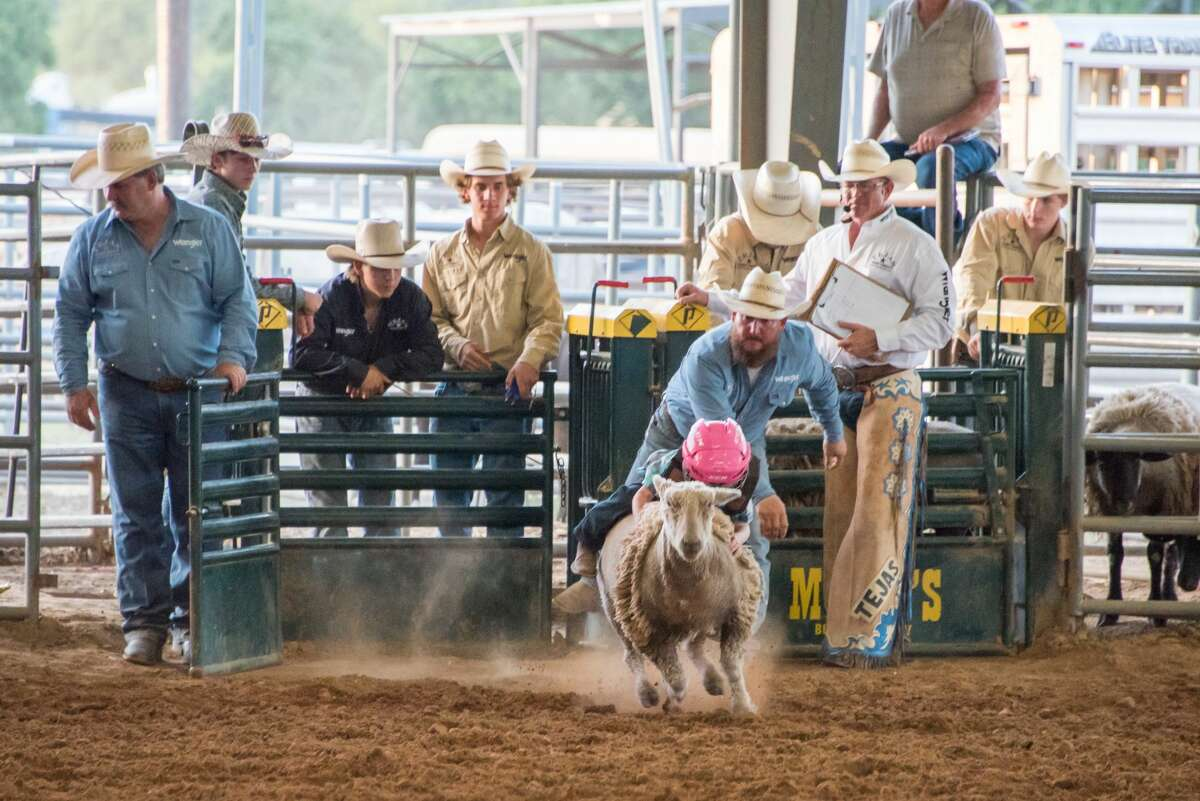"""Kids can sign up for """"Mutton Bustin'"""" from 5:30-6:30 p.m. each Saturday."""