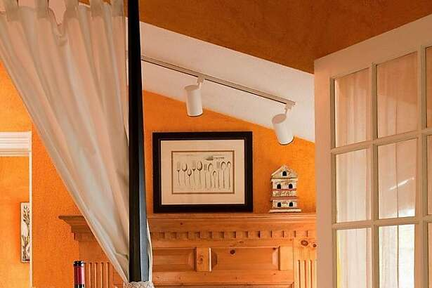 The master suite at Carter Cottage.