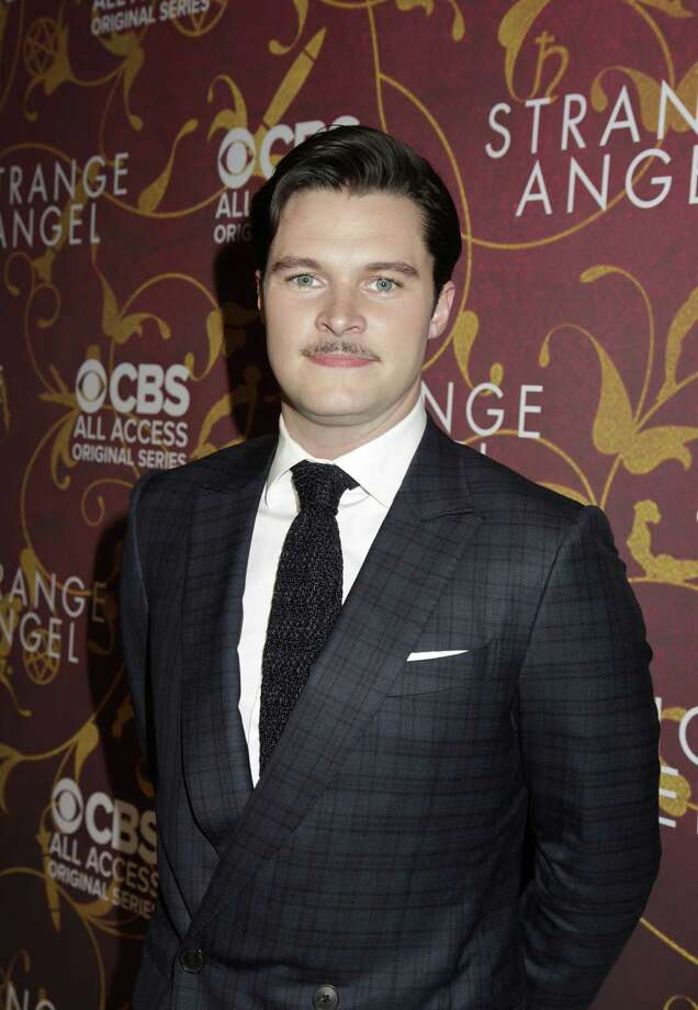 Jack Reynor arrives on the red carpet to the CBS All Access series premiere of STRANGE ANGEL. Photo Cr: Francis Specker/CBS ©2018 CBS Interactive, Inc. All Rights Reserved. Photo: Credit: Francis Specker / ©2018 CBS Interactive, Inc. Credit: Francis Specker.