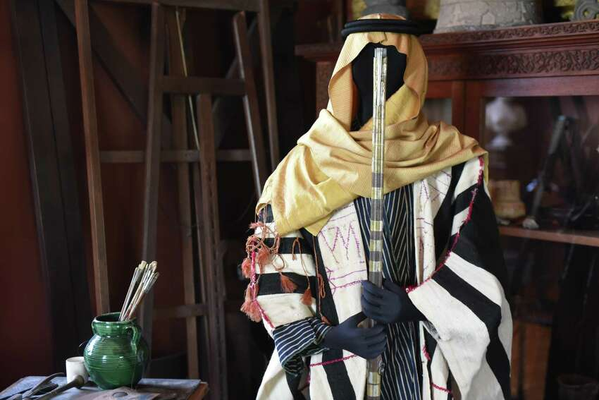 Visitors to Olana State Historic Site can explore 19th century Middle Eastern clothing through The Olana Partnership's special exhibition for this year,
