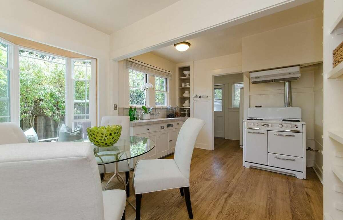 A sunny cottage in the heart of Palo Alto at 128 Middlefield Rd. is listed for $2.6 million.