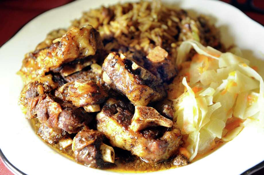 Oxtail on Tuesday, May 24, 2016, at Trinbago Caribbean Restaurant in Albany, N.Y. (Cindy Schultz / Times Union) Photo: Cindy Schultz / Albany Times Union