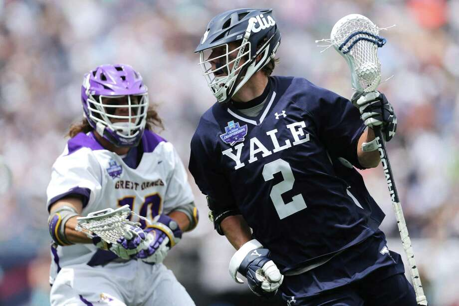 Yale's Ben Reeves was named an All-American scholar by the United States Intercollegiate Lacrosse Association. Photo: Maddie Meyer / Getty Images / 2018 Getty Images