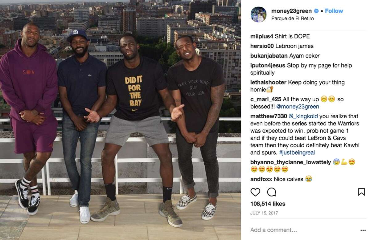 In a recent interview,Draymond Greensaid his favorite travel destination was - sorry, Bay Area - Barcelona.