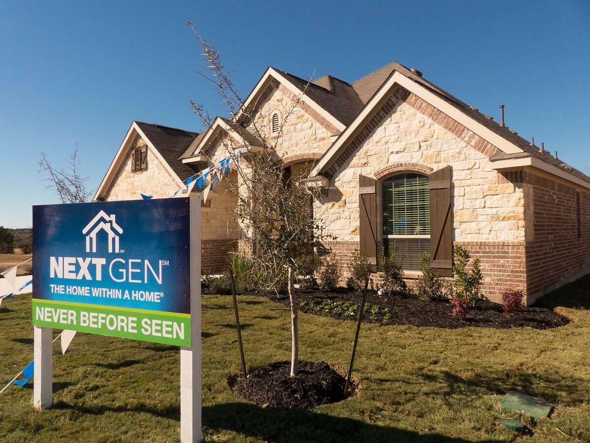 """Lennar's """"NextGen"""" at 4919 Isaac Ryan is essentially two homes in a home. The home includes a 500-square-foot suite that has it's own separate entrance. The space is for an aging parent or an adult child who hasn't moved out of the home."""