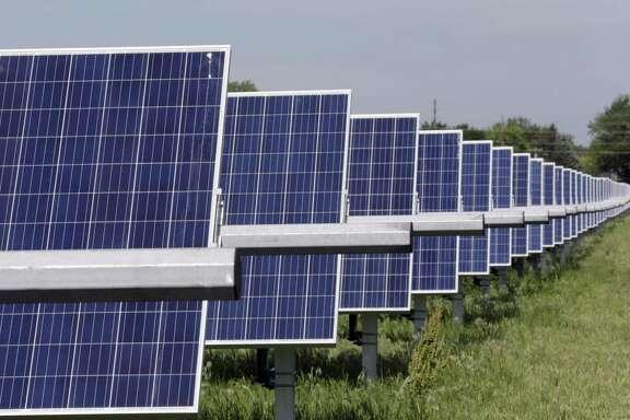 A solar array.