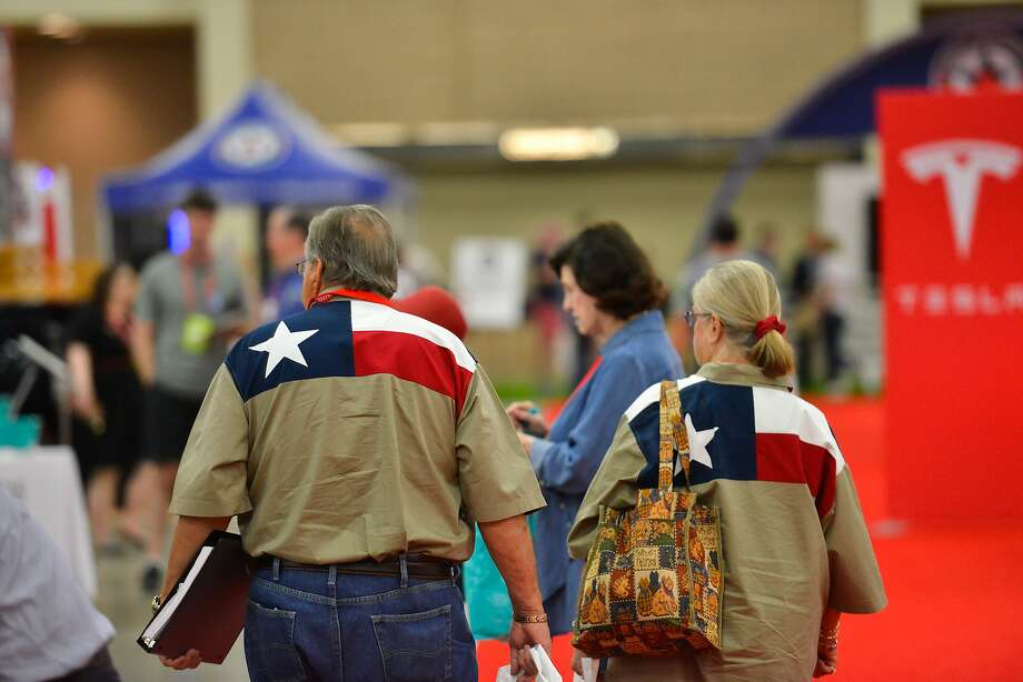 FILE - The Texas Republican Convention in San Antonio in 2018. Photo: Robin Jerstad, San Antonio Express News