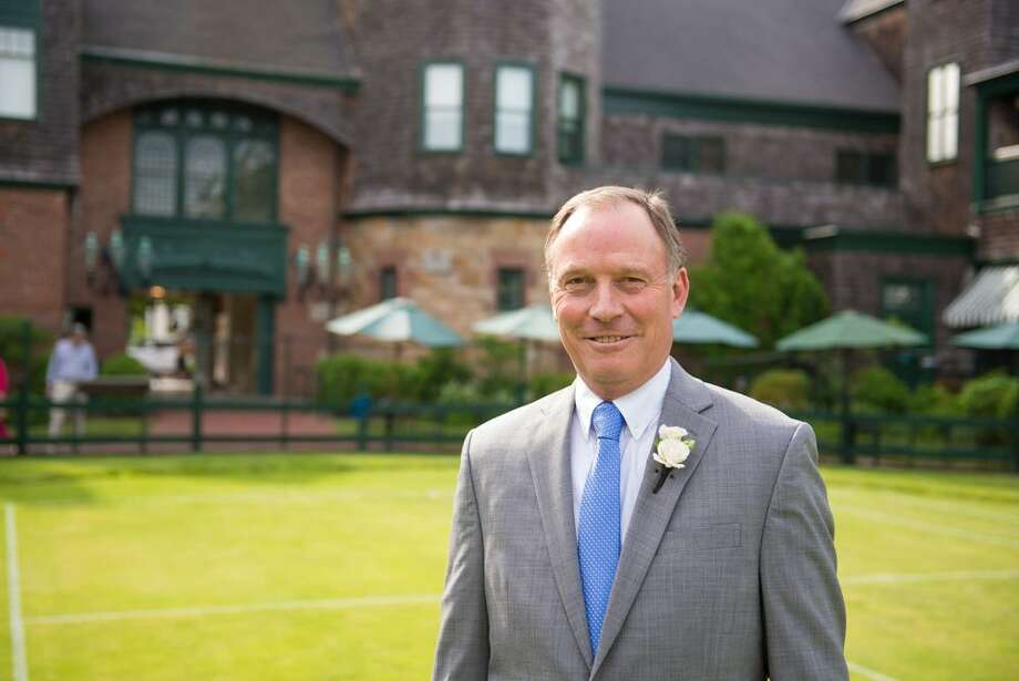 Jonathan H. Bates, of Stamford, was recently inducted into the USTA New England Tennis Hall of Fame. Bates is a math teacher at Greenwich Country Day School. Photo: Contributed Photo / Stamford Advocate Contributed