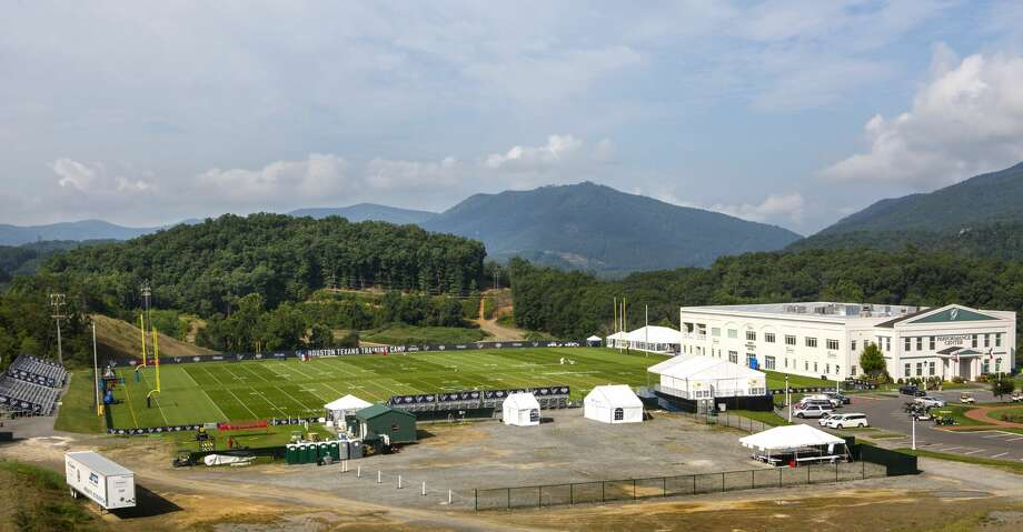 For the second consecutive year, the Texans will hold training camp remotely at The Greenbrier. Photo: Brett Coomer/Houston Chronicle