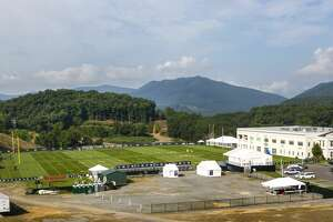 The Greenbrier Sports Performance Center, where the Houston Texans are holding training camp, is shown on Saturday, Aug. 12, 2017, in White Sulphur Springs, W.Va. ( Brett Coomer / Houston Chronicle )