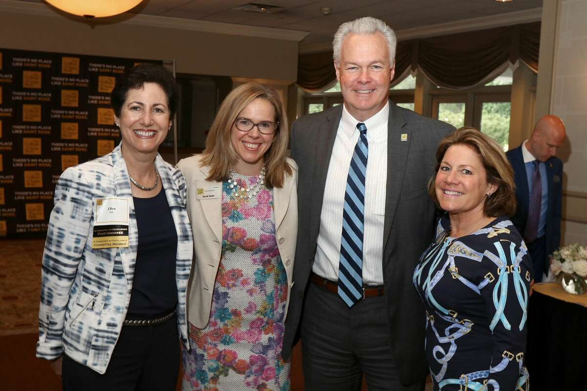 Were you Seen at The College of Saint Rose Community of Excellence Awards luncheon honoringDenise Gonick, Tammis Groft and Charles Touhey& Alice Greenat Wolferts Roost in Albany on Wednesday, June 13, 2018?