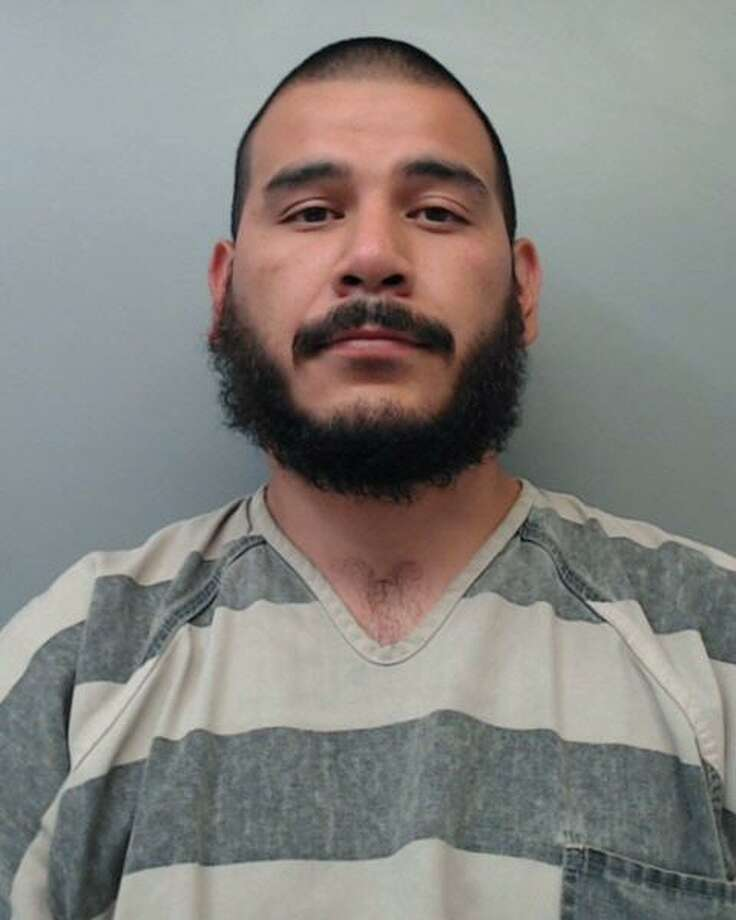 Eliseo Rivera, 26, was charged with aggravated assault against a public servant with a deadly weapon, resisting arrest and evading arrest with a vehicle. Photo: Webb County Sheriff's Office