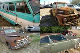 Laredo police said they have recovered the four vehicles seen in these photos. A miscommunication led the owner to report the classics as stolen.