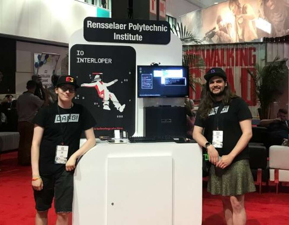 An RPI student-led video game company called Dang! was recognized at the Electronics Entertainment Expo in Los Angeles this week for having one of the best games, IO Interloper, in its college competition.