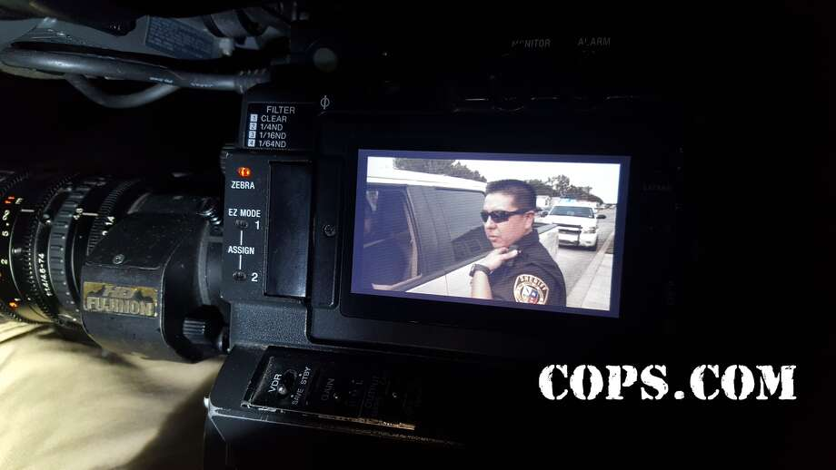 COPS wrapped up filming in Bexar county and has behind-the-scenes photos to share of their adventures. Photo: Contributed Photo