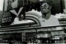 "One of Frank ""Fraver"" Verlizzo's most monumental works spanned the length of Broadway from 45th to 46th streets, a teaser to Stevie Wonder's groundbreaking 1976 opus, ""Songs in the Key of Life."""