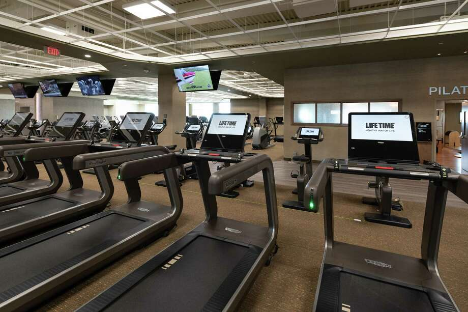 Exercise machines at Life Time Athletic Cypress fitness club on Wednesday, June 13, 2018 in Cypress Texas. Photo: Wilf Thorne, For The Chronicle / © 2018 Houston Chronicle