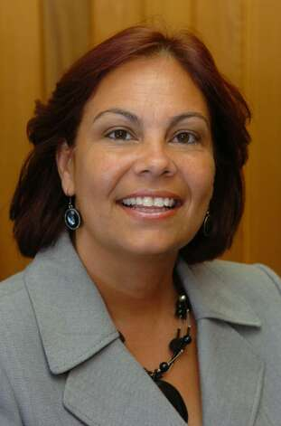 Bridgeport Housing Authority Co-deputy Director Blanca Carrasquillo, shown here at headquarters in Bridgeport, Conn. on Tuesday July 06, 2010. Photo: Christian Abraham / Connecticut Post