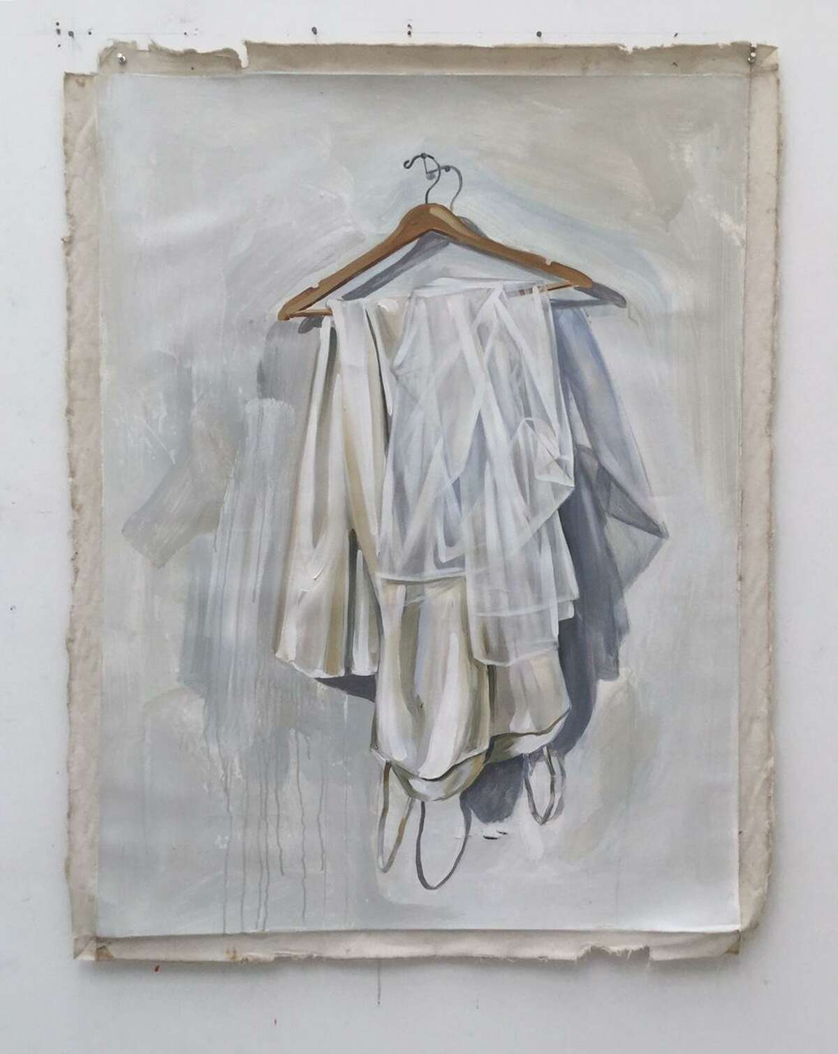 'Wedding Gown' painting, as recovered from the Bay