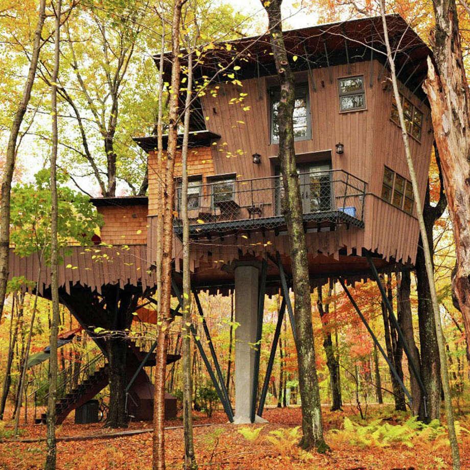 Winvian Farm in Litchfield, Conn., also features a suite in a treehouse. Photo: Winvian Farm / Bloomberg