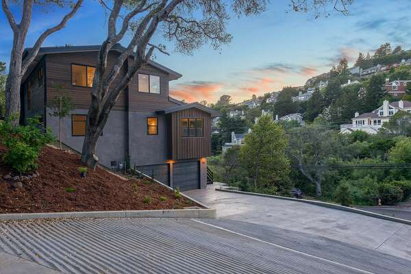 391 Loring Ave. in Mill Valley is a newly built five-bedroom available for $2.975 million.
