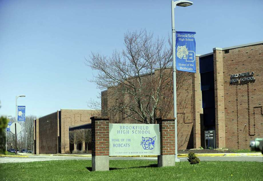 The latest capital improvement plan includes renovations to the boys' locker room at Brookfield High School. Photo: Carol Kaliff / Hearst Connecticut Media / The News-Times