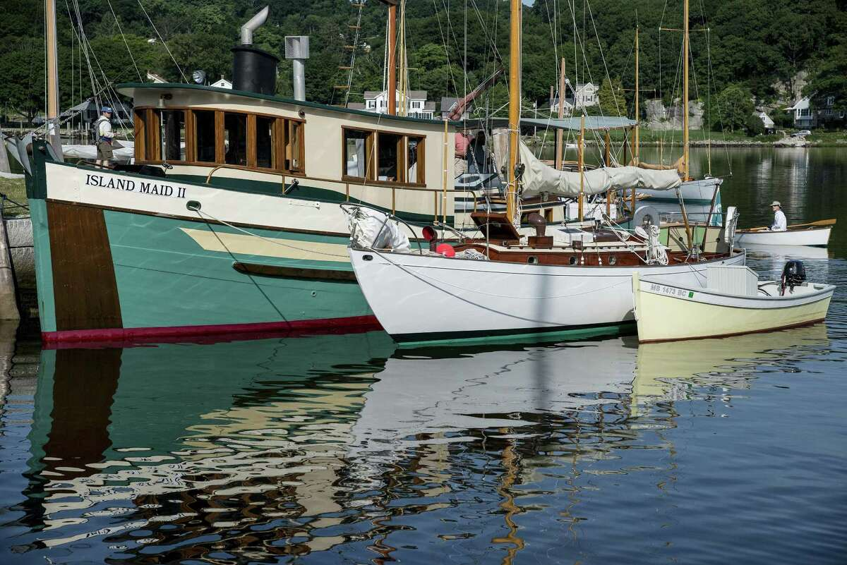 WOODEN BOATS: More than 100 wooden boats of all shapes and sizes will be present at Mystic Seaport Museum for The WoodenBoat Show June 22-24. Museum staff and guest experts will conduct demonstrations of a variety of boat-building skills, including wood-epoxy boat building, caulking, laminating wood, using an adze, and rigging the reproduction galleon Mayflower II. There will also be daily tours of the Mayflower II in the museum's shipyard. Museum admission provides access to both The WoodenBoat Show and Mystic Seaport Museum. See mysticseaport.org.