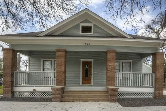 Jack Rabbit Gallery, owned byJodi Grogan,has leased a 2,600-square-foot building in the Heights at 1703 Yale St. The 1920s building recently underwent a restoration, highlighting the original wood floors and shiplap.
