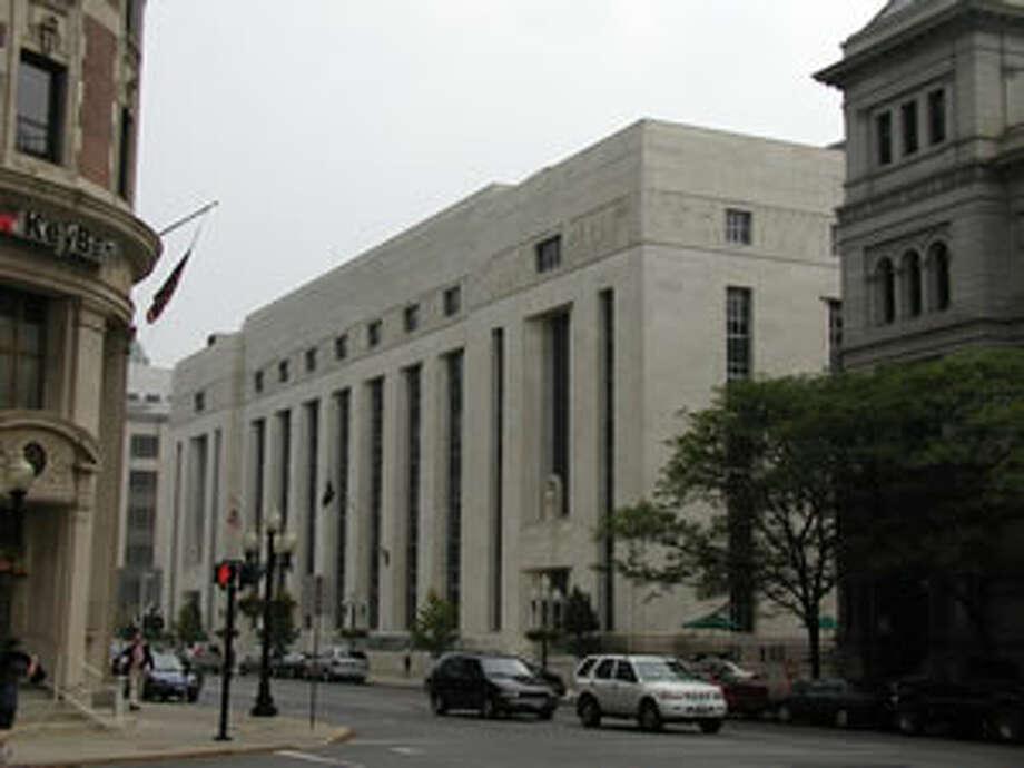 James T. Foley U.S. Courthouse 445 Broadway, Albany. Photo: Nynb.uscourts.gov/