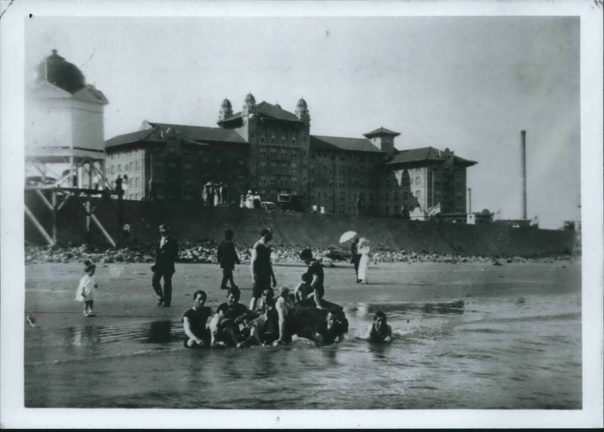In the early 20th century, Houstonians found the attractions of the beaches and hotels, such as the Galvez on Galveston Island, to be attempting escape from the Houston summer heat and humidity.