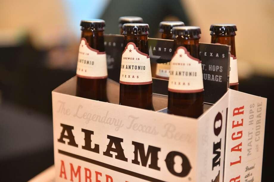 Alamo Beer Co. beers. Photo: Robin Jerstad /For The Express-News / ROBERT JERSTAD