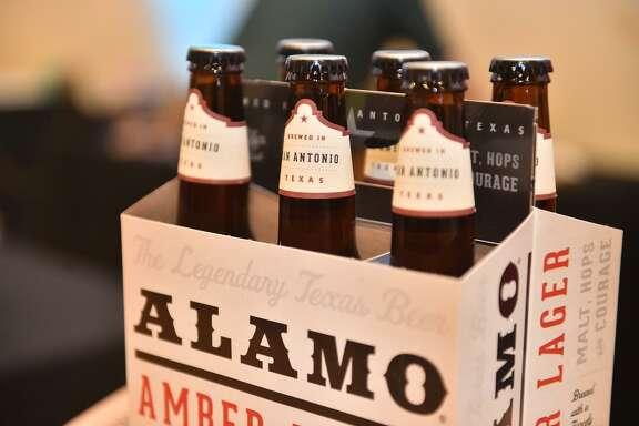 Alamo Beer Co. beers.