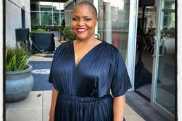 Brown Sugar Kitchen chef-owner Tanya Holland at the MoAD Diaspora Dinner. June 12, 2018.