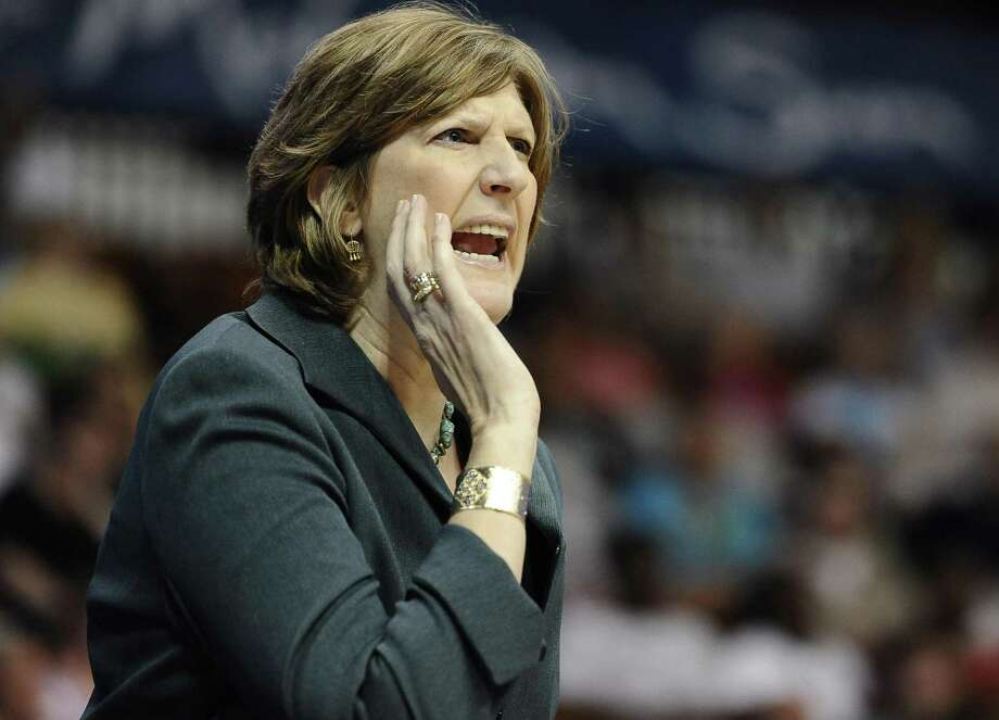 Hall of Famer Anne Donovan, who coached the Connecticut Sun 2013-2015, died of heart failure at age 56 Wednesday. (AP Photo/Jessica Hill) Photo: Jessica Hill / Associated Press / FR125654 AP